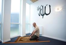 Azora Antonia islamitische gebedsruimte