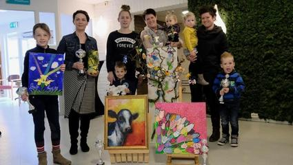 Prijswinnaars lentekunstwedstrijd De Bettekamp