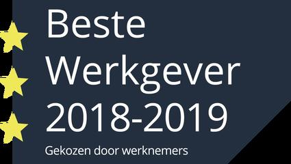 Beste werkgever 2018-2019