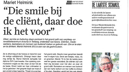 """Artikel: """"Die smile bij de cliënt, daar doe ik het voor"""""""