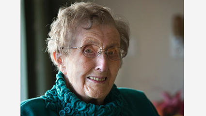 105-jarige Jo Bruggink oudste inwoner Oude IJsselstreek
